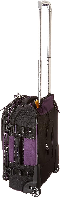 Travelpro Bold-Softside Expandable Rollaboard Upright Luggage Purple//Black