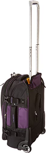 Travelpro Bold-Softside Expandable Rollaboard Upright Luggage, Purple Black, Carry-On 22-Inch