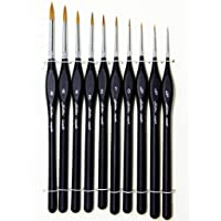 Golden maple Paint Brushes Set Professional Paint Brush Nylon Hair artist acrylic brush for Acrylic Watercolor Oil Painting