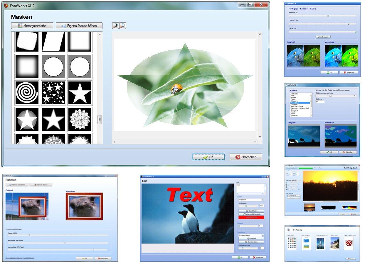 Fotoworks XL 2 2018er Version Bildbearbeitungsprogramm zur