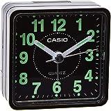 ساعة للمكتب بلاستيك من كاسيو مع منبه ، انالوج/رقمي - بطارية A4