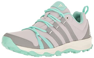 91a98ba905e adidas outdoor Women s Tracerocker Trail Running Shoe Ice Purple Ch Solid  Grey Easy Green