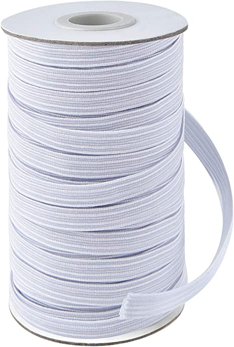 Coopay 45 Yards Length 1 2 Width Elastic Cord Elastic Bands