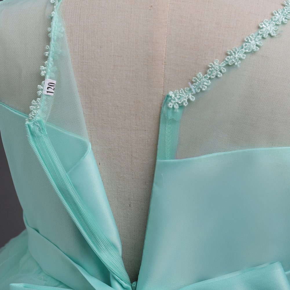 Hibote Vestidos Ni/ña Floral Wedding Party Birthday Dress TUTU