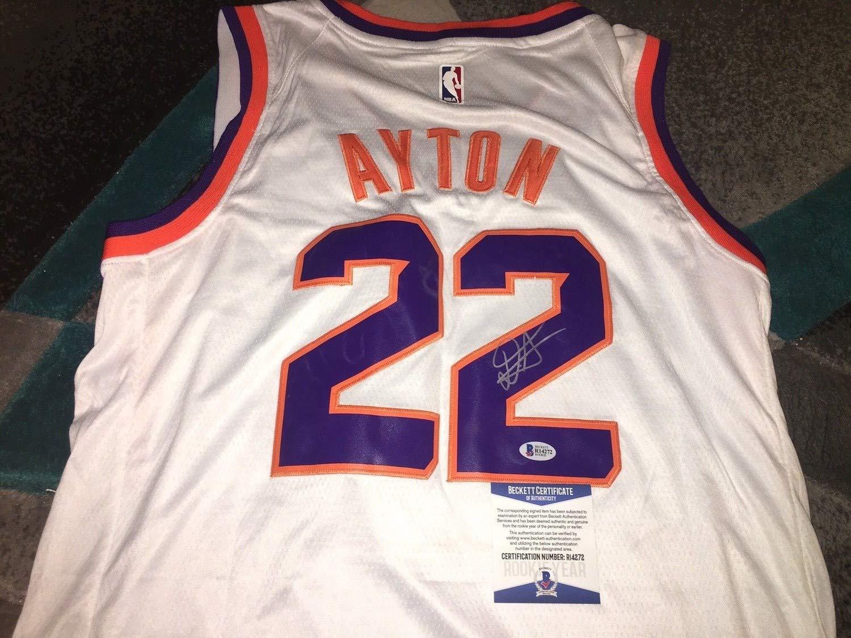 quality design d38ba d0593 Deandre Ayton Autographed Signed Memorabilia Phoenix Suns ...
