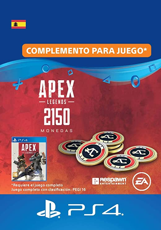 APEX Legends: 11,500 Coins (PSN Wallet Top-Up) | Código de ...