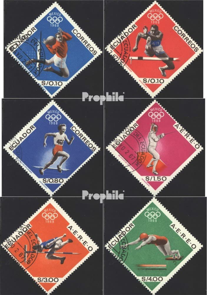Prophila Collection Messico Michel.-No..: 1898-1903 L.Un. Estate /´84 1984 Olympics Completa Edizione Olimpiadi Francobolli per i Collezionisti