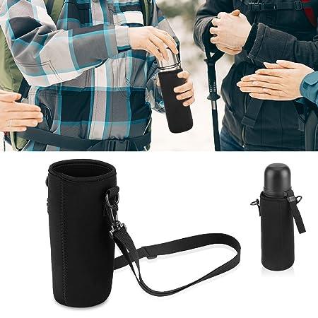 GLOGLOW Wasserflasche Tasche Neopren Flaschenh/ülle 0026 Sling Isolierte Elastische Material Verstellbare abnehmbare Strap #1