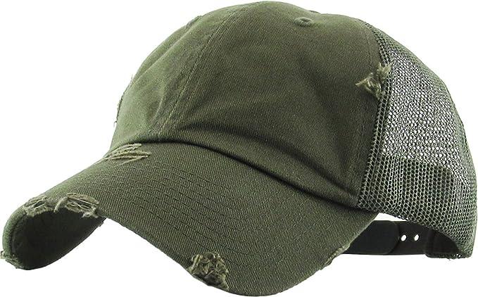 Funky Junque Women's Adjustable Athletic Trucker Hat