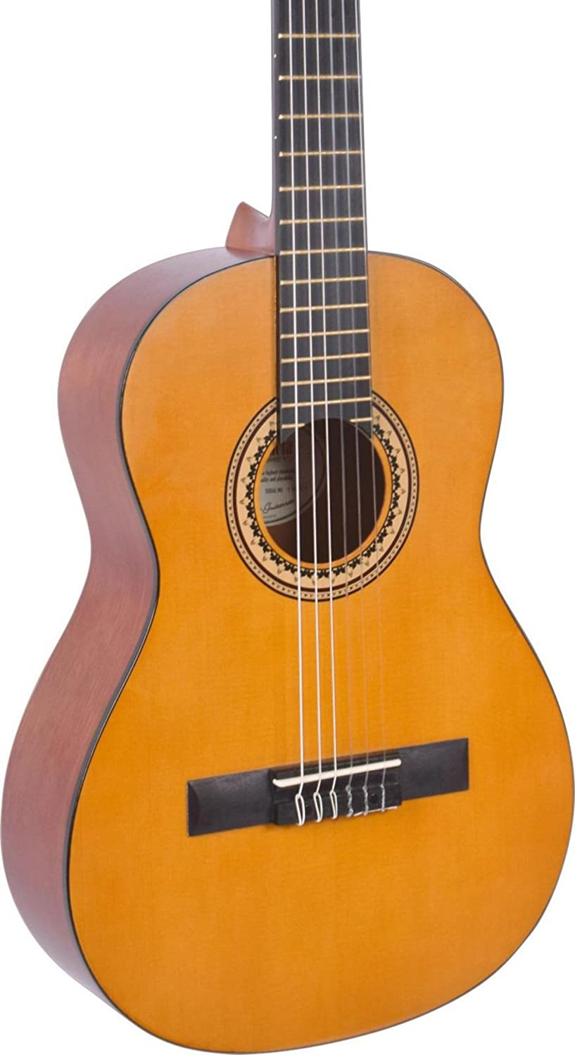 Valencia 200 Series 3/4 Size Classical Acoustic Guitar Natural