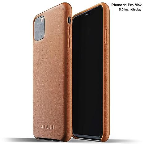 Amazon.com: Mujjo - Funda de piel para Apple iPhone 11 Pro ...