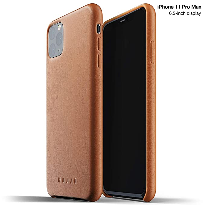 Amazon.com: Mujjo - Funda de piel para Apple iPhone 11 Pro ...