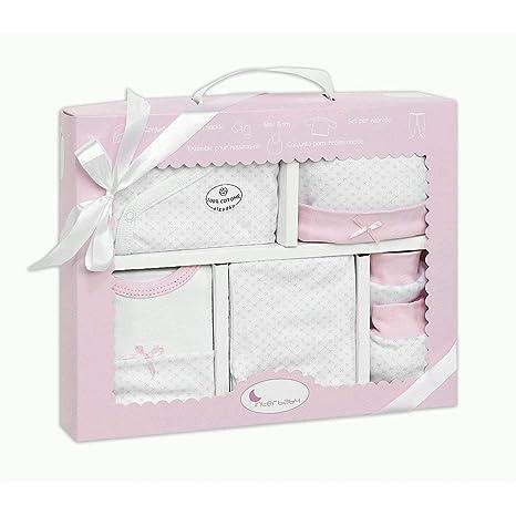 Set Primera Puesta 5 Piezas Rosa - Regalos Recien nacidos Bebés ...