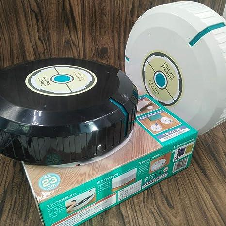 Jasnyfall Robot Cleaner Automatic Smart Cleaning Robot Aspiradora Inteligente para Pisos Barredora de Polvo - Negro