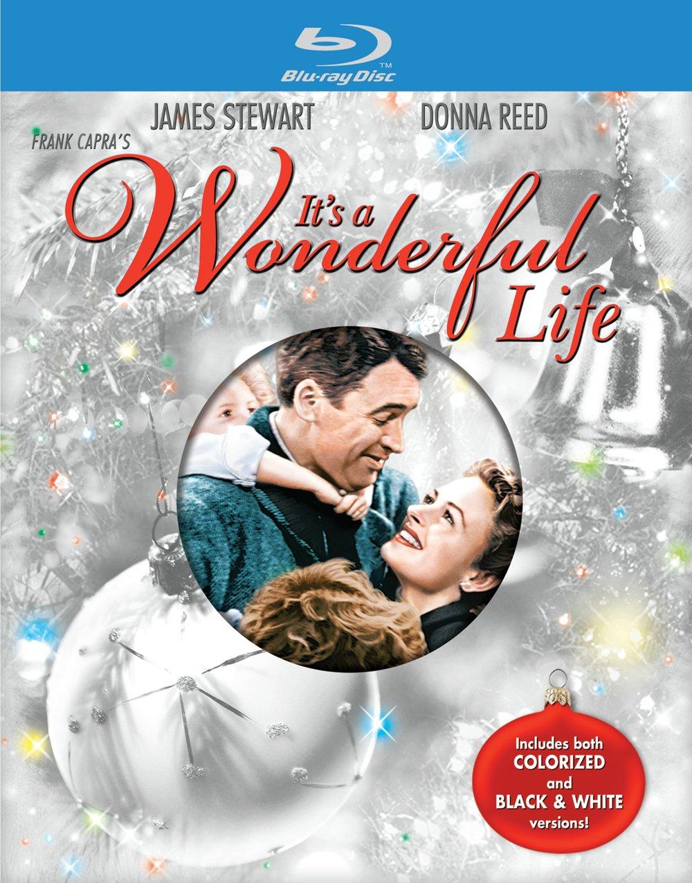 Amazon.com: It\'s a Wonderful Life [Blu-ray]: James Stewart, Donna ...