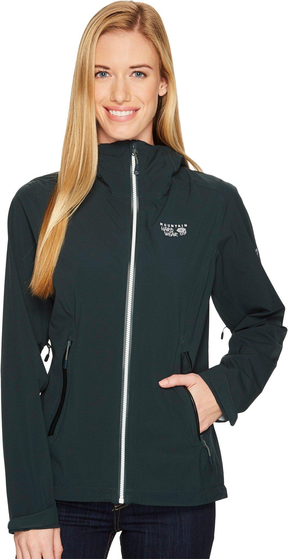 Mountain Hardwear Women's Stretch Ozonic¿ Jacket Blue Spruce Jacket by Mountain Hardwear