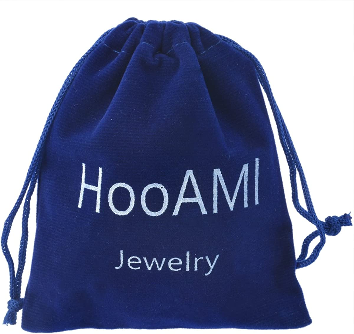 HooAMI Open Cuff Bangles Stainless Steel Smiling Face Bracelet for Women DIY Jewellery