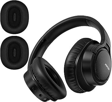 Mpow H7 Plus Auriculares Bluetooth Diadema con aptX, Orejeras Reemplazables, Cascos Bluetooth Inalámbricos con Micrófono, HiFi Calidad de Sonido para Móvil/Tableta/PC/TV: Amazon.es: Electrónica