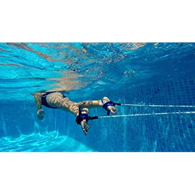 Nadathlon 001 Nadador Estático, Adultos Unisex, Azul, Talla Única