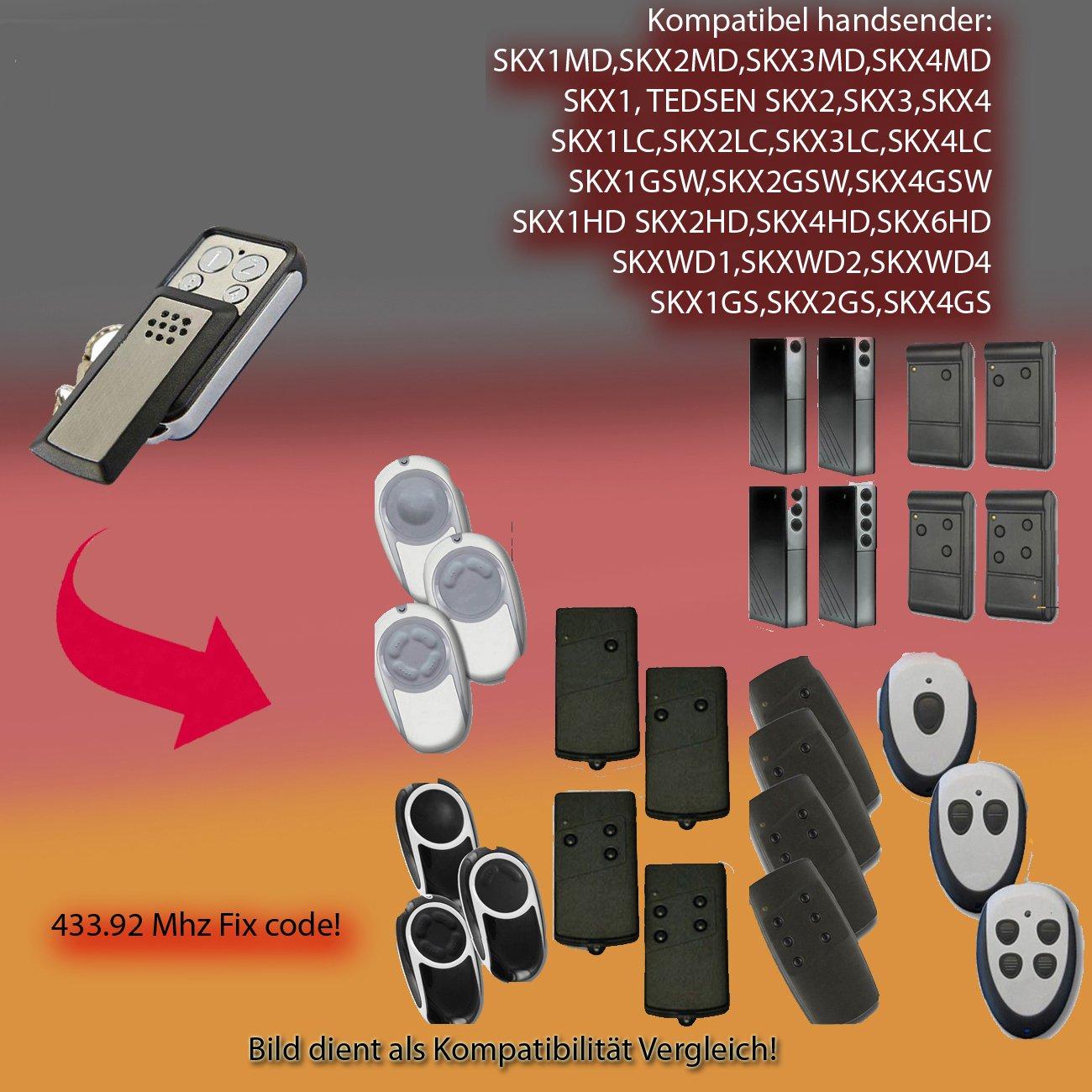 Skj Mini 433.92MHz compatible emisor manual para, Clones