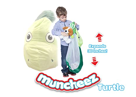 Muncheez Stuffed Animal Toy Storage for Children Turtle - Perfect for Kids - SUPER SOFT  sc 1 st  Amazon.com & Amazon.com: Muncheez Stuffed Animal Toy Storage for Children Turtle ...