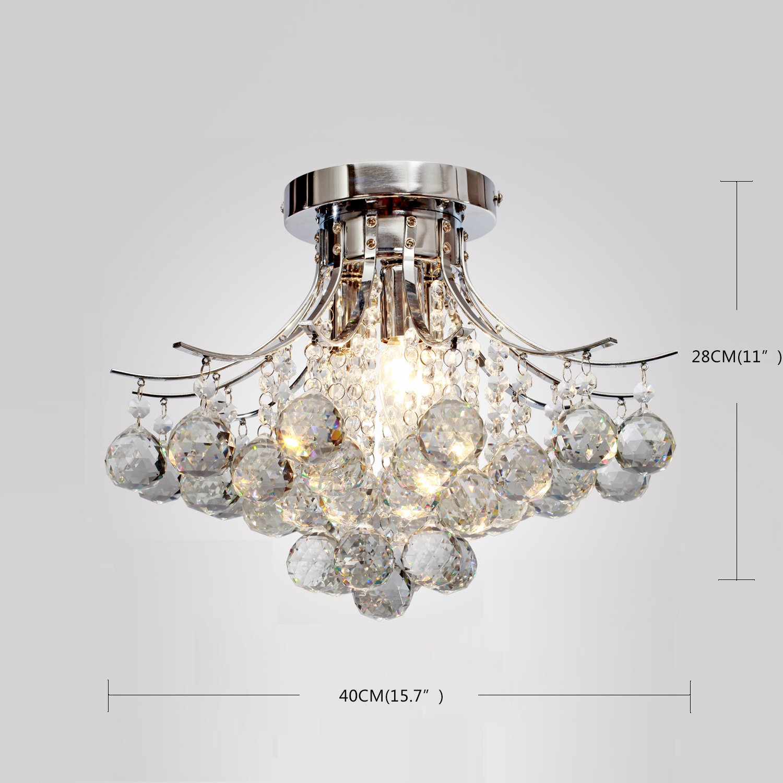 Lightinthebox 00218363 chrome finish crystal chandelier with 3 lightinthebox 00218363 chrome finish crystal chandelier with 3 lights amazon arubaitofo Images
