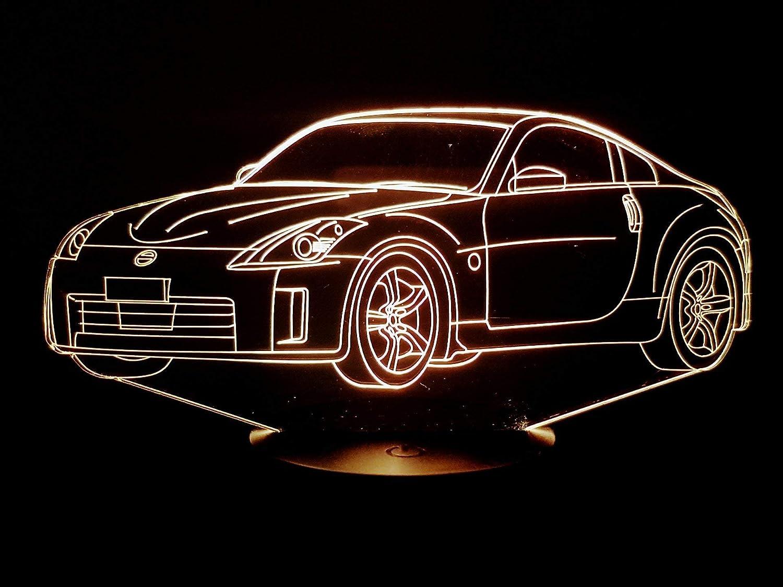 Lampe 3D Motif: NISSAN 350Z