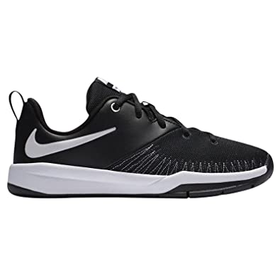498fe48f11e2ba Image Unavailable. Image not available for. Color  Nike Boy s Team Hustle D  7 Low (GS) Basketball Shoe Black White Size
