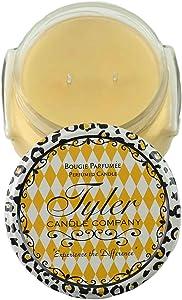 Tyler Candle Prestige Collection 22oz Two Wick Orange Vanilla Scent
