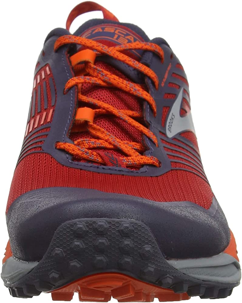 Brooks Cascadia 13, Zapatillas de Cross para Hombre, Rojo (Red ...