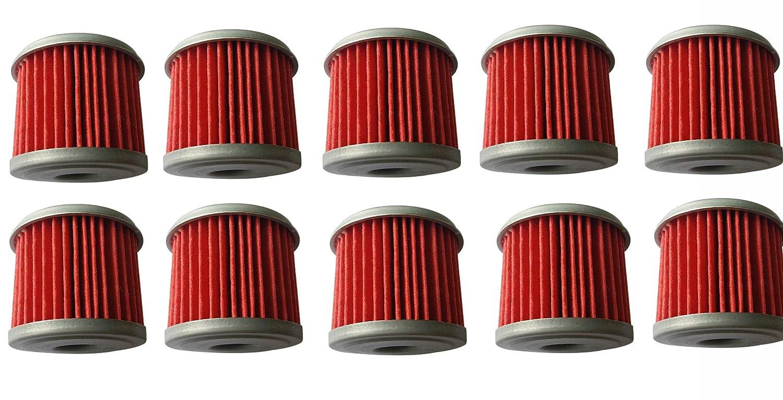 Pack of 10 shamofeng Oil Filter For ATV Honda TRX450R CRF250X CRF450X CRF250R CRF450R Replace HF116 KN116