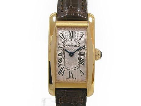 official photos 38c7c a492d Amazon   [カルティエ] Cartier タンクアメリカンSM 腕時計 ...