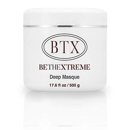 Keratin Cure BTX Deep Hair Mask Masque Cream Moisturizing,Reparation, Argan, Marula, Coconut Oils For Damaged Hair thinning, Color Treated Hair Scalp for all hair types 500gr 17 oz