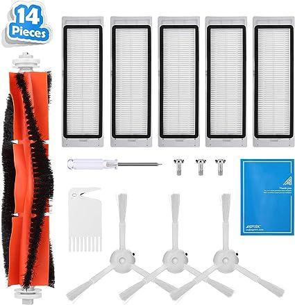 10 piezas de repuesto para robot aspirador Xiaomi MI Robot Vacuum ...