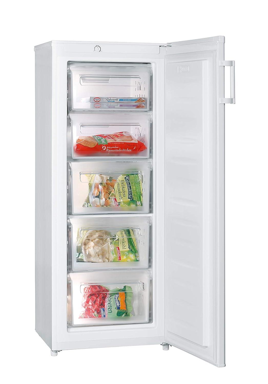 Severin KS 9809 Congelador Vertical, 160 L, Blanco: Amazon.es: Hogar