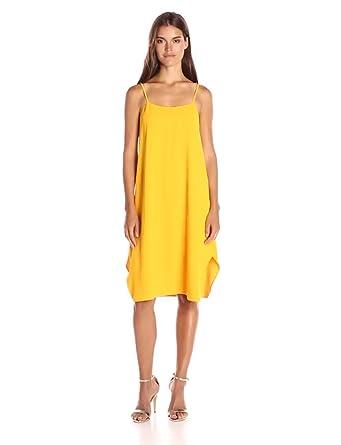 cbd8d11c44 Amazon.com  Trina Turk Women s Nara Carmel Crepe Midi Dress