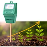 KINCREA Soil Moisture Meter, Hygrometer Soil Water Monitor for Garden, Lawn Plants Indoor Outdoor, Battery Free (only…