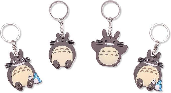 Amazon.com: Finex My Neighbor Totoro - Juego de 4 llaveros ...