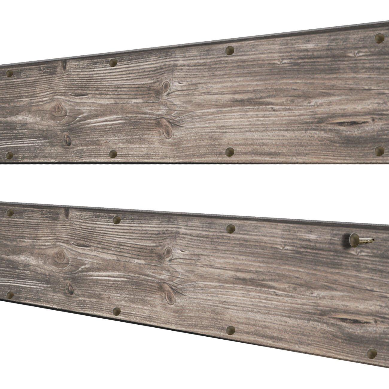 200x Antik Messing Design N/ägel Restauration Holz 8x1 mm M/öbel-Bau rostig Vintage Bronze Antik Rost Optik FUXXER/® 200 St/ück
