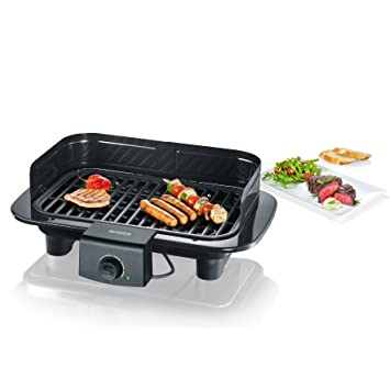 Severin PG 8539 Barbacoa Grill, 2300 W, Cable eléctrico 1,40 m,