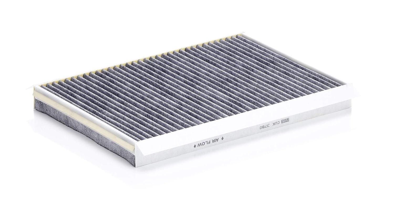 F/ür PKW Original MANN-FILTER Innenraumfilter CUK 3780 Pollenfilter mit Aktivkohle
