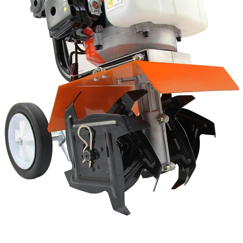 T-Mech - Mini Arado Cincel para Jardín con Motor de Gasolina de 52cc: Amazon.es: Bricolaje y herramientas