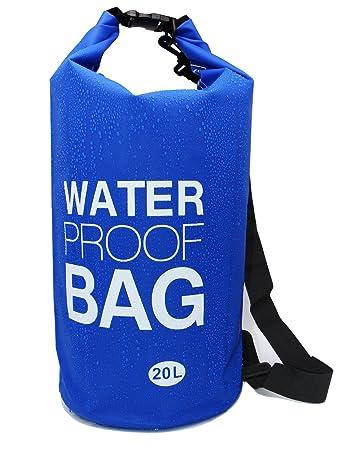 8d9a48a66020 Amazon.com   LANGXUN 20L Blue Waterproof Dry Bag for Diving ...