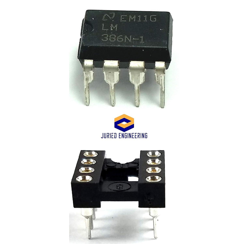 LM386N  Audio Amplifier   DIP8   LM386    2 Stck.