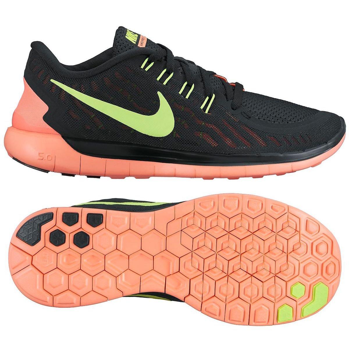 71571d4dbe938 Amazon.com | Nike Womens Free 5.0 Running Shoes (11 B(M) US, Black ...