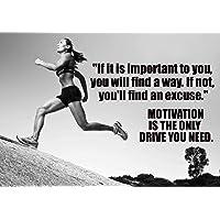 Motivational Póster de la Athletics # 605Cita Póster