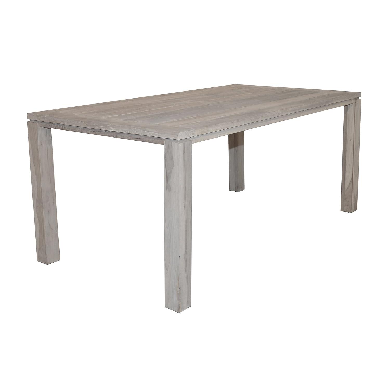 Amazon.de: Aqua-Saar Dining Table little Amsterdam Teaktisch 180 x ...