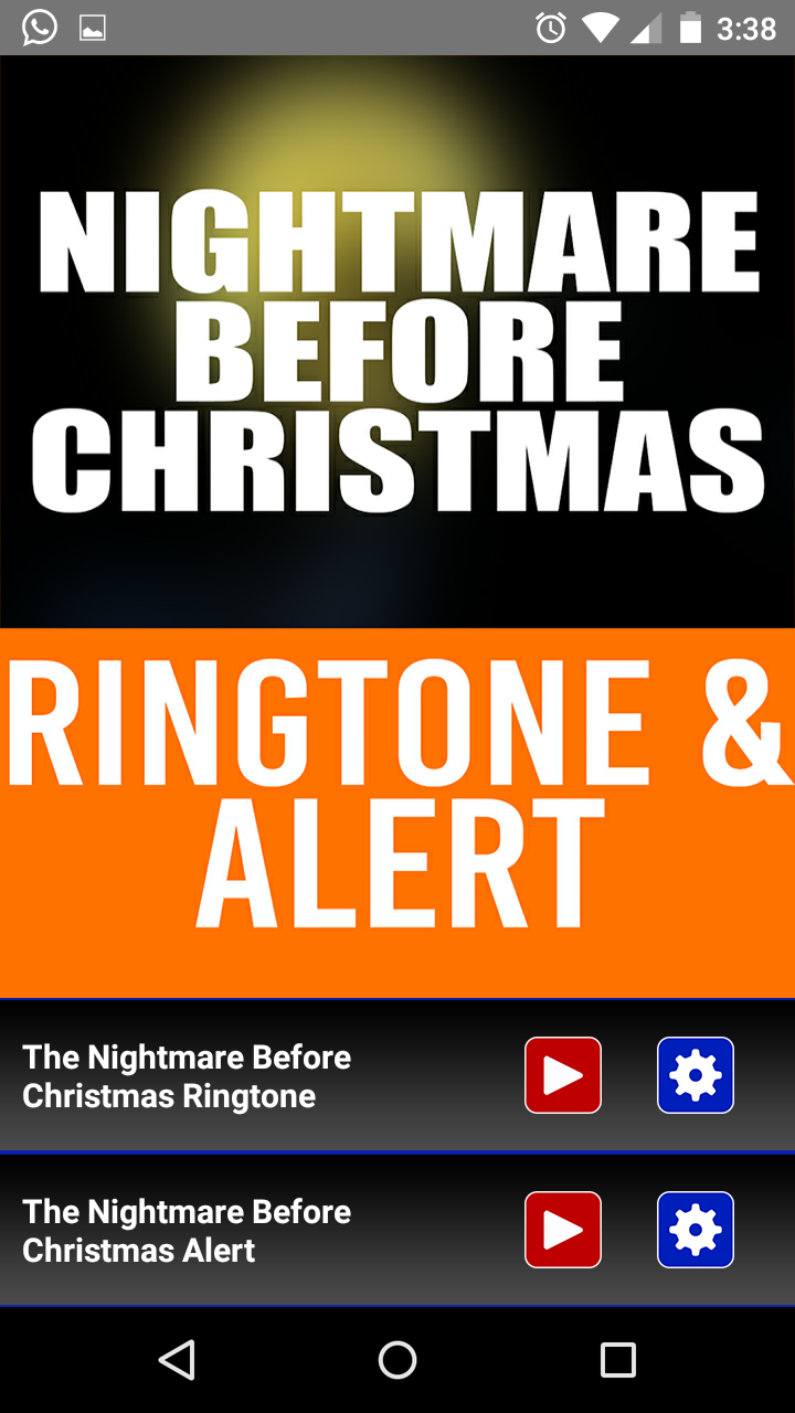 Amazon.com: The Nightmare Before Christmas Ringtone and Alert ...