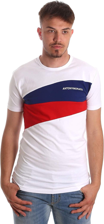 Antony Morato Camiseta Contrasti Blanco Hombre