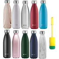 FLSK Trinkflasche Isolierflasche Thermosflasche Thermoskanne + Flaschenbürste